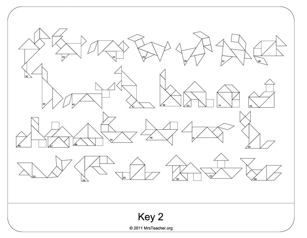 Mrs Teacher Tangram Challenge 87 Pages Free Download Math Center Teaching Math Pattern Blocks [ 795 x 1024 Pixel ]