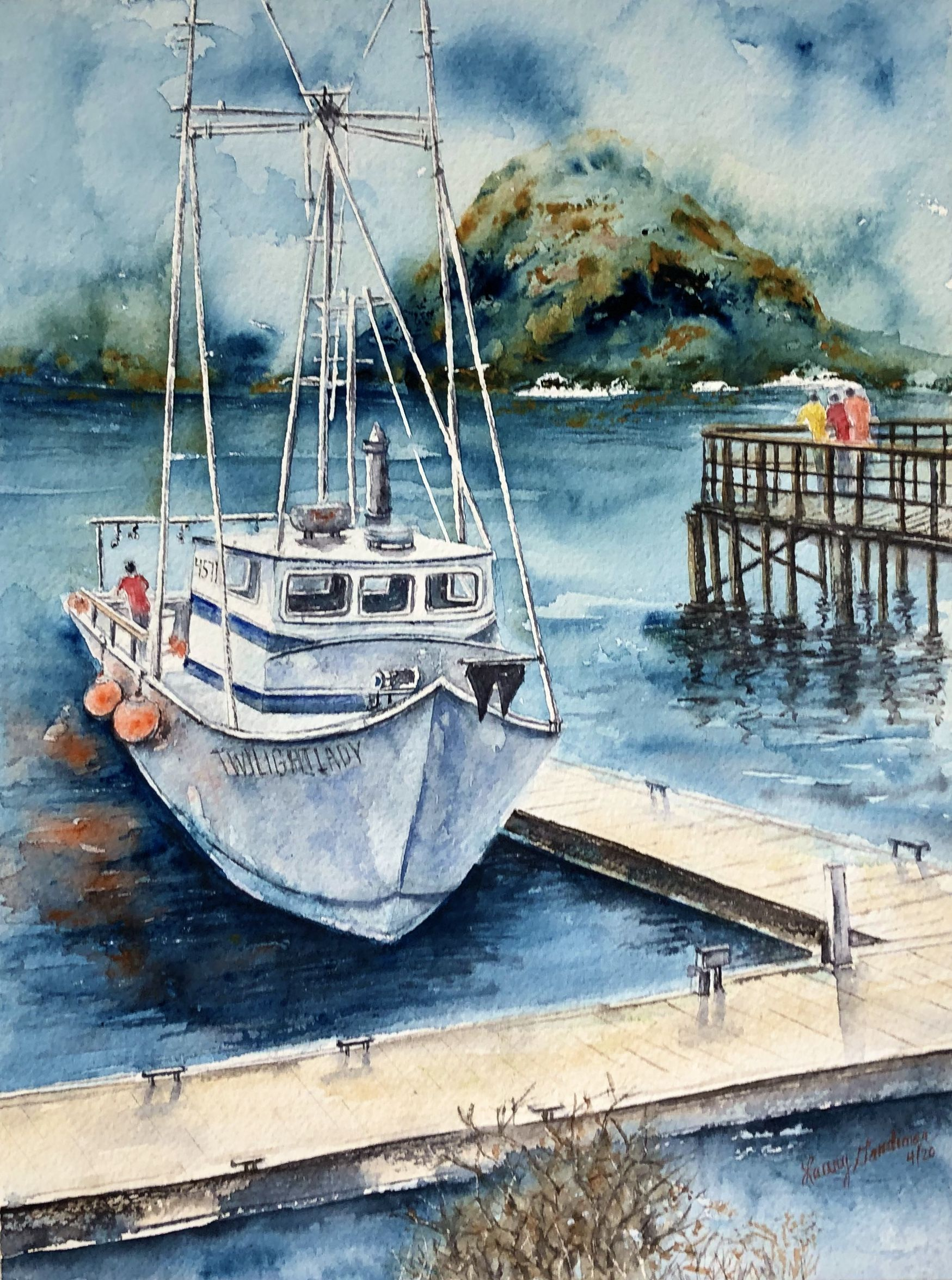 Current Offerings at the Gruppé Gallery | Marine painting