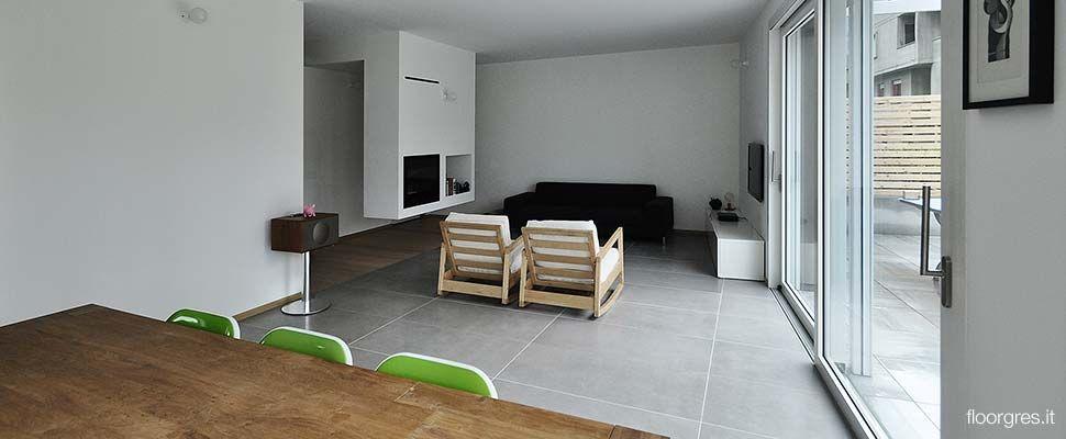 Floor Gres: Industrial  large format porcelain