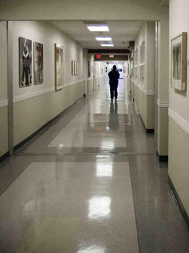 The Hospital Hallways All Look Virtually The Same They