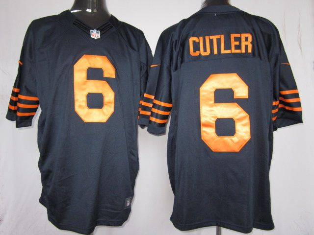 fa1799c36 NIKE Chicago Bears 6 CUTLER Dk-Blue Limited Jersey  20 per piece
