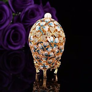 2016 New arrive Mediterranean Hollow style faberge egg handicraft ornaments enamel painted diamond metal crafts gift ornaments  #Newarrive #Mediterranean #Hollowstyle #fabergeegg #handicraft #ornaments #enamelpainted #diamond #metalcrafts #gift #ornaments #ebay