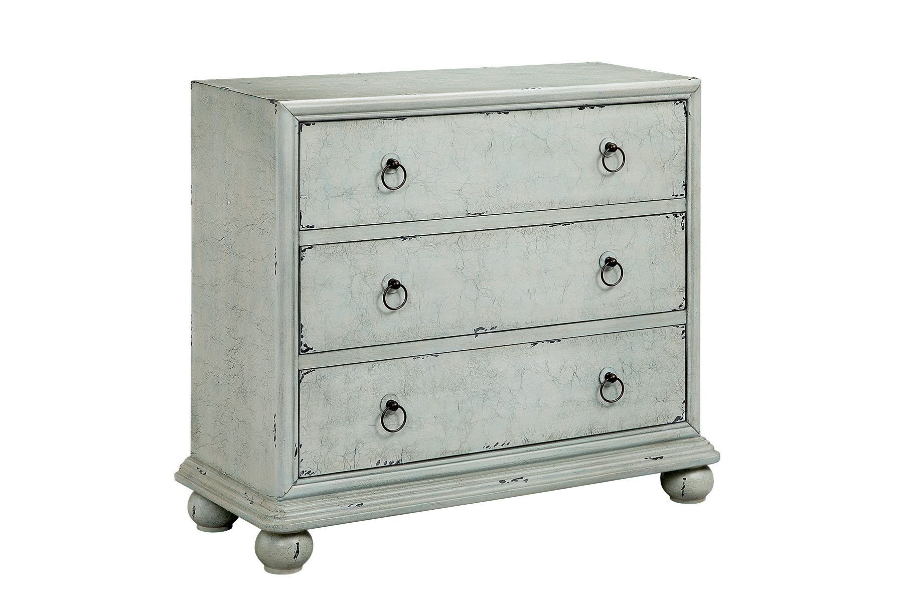 Varicose 3 Drawer Accent Chest