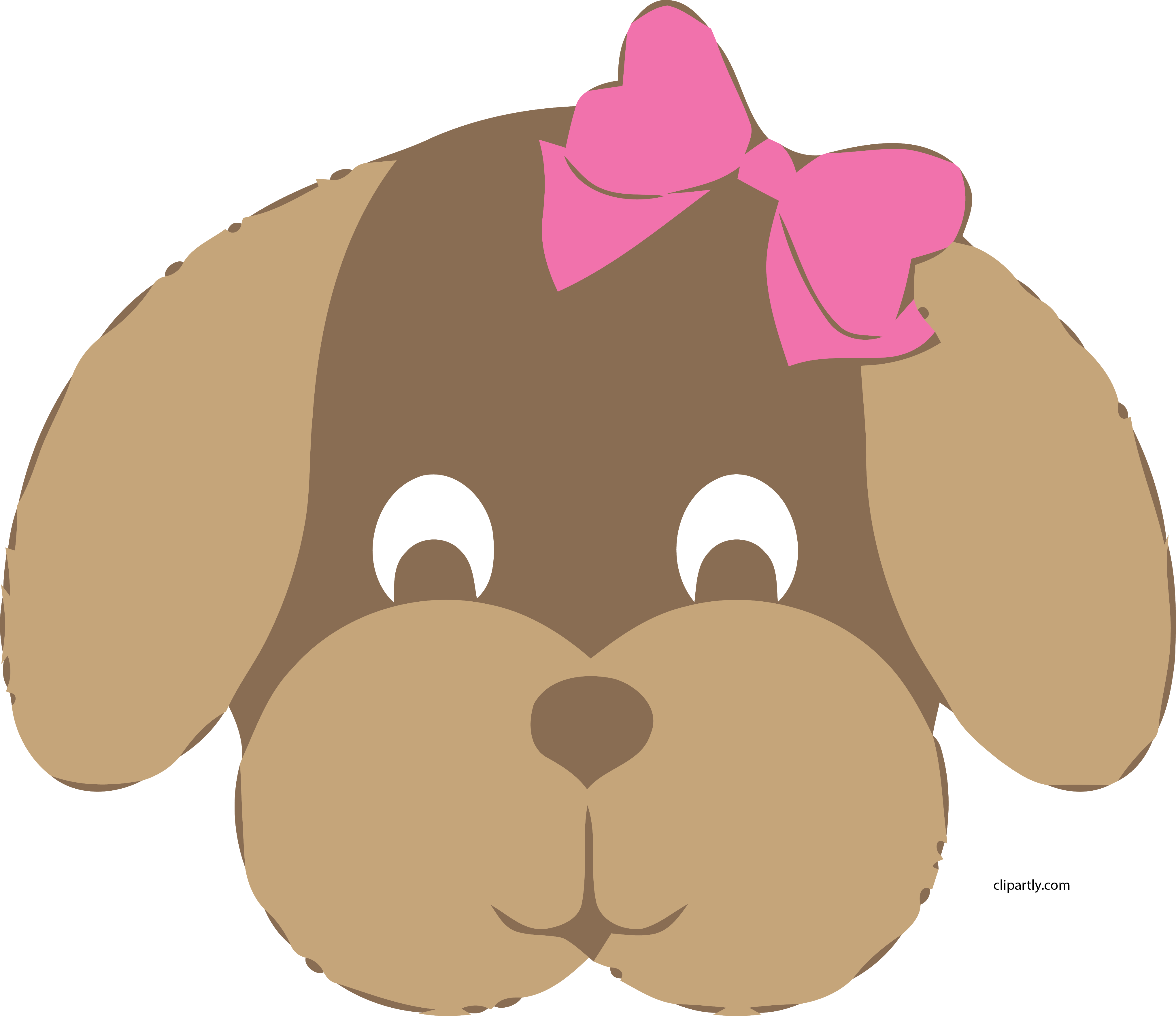 Big Dog Clip Art Girl Dog Face Clipart Cute Sweet Png Cute Dog Face Clipart Is A Free Transparent Png Image Search And Fi Girl And Dog Dog Clip Art