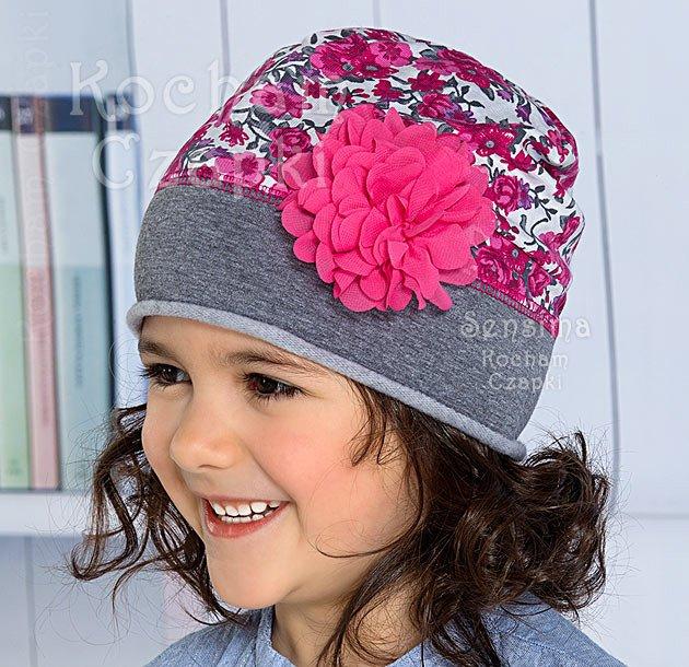 Wiosenne Czapki Dla Dziewczynek Zapach Kwiaty Bawelniana Dresowa Rozm 50 52 Cm Czapki Dla Dzieci Dla Dziewczynki Sklep Kocham Crochet Hats Crochet Hats