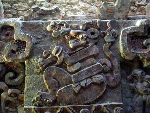 Mayan Frieze at Balamku
