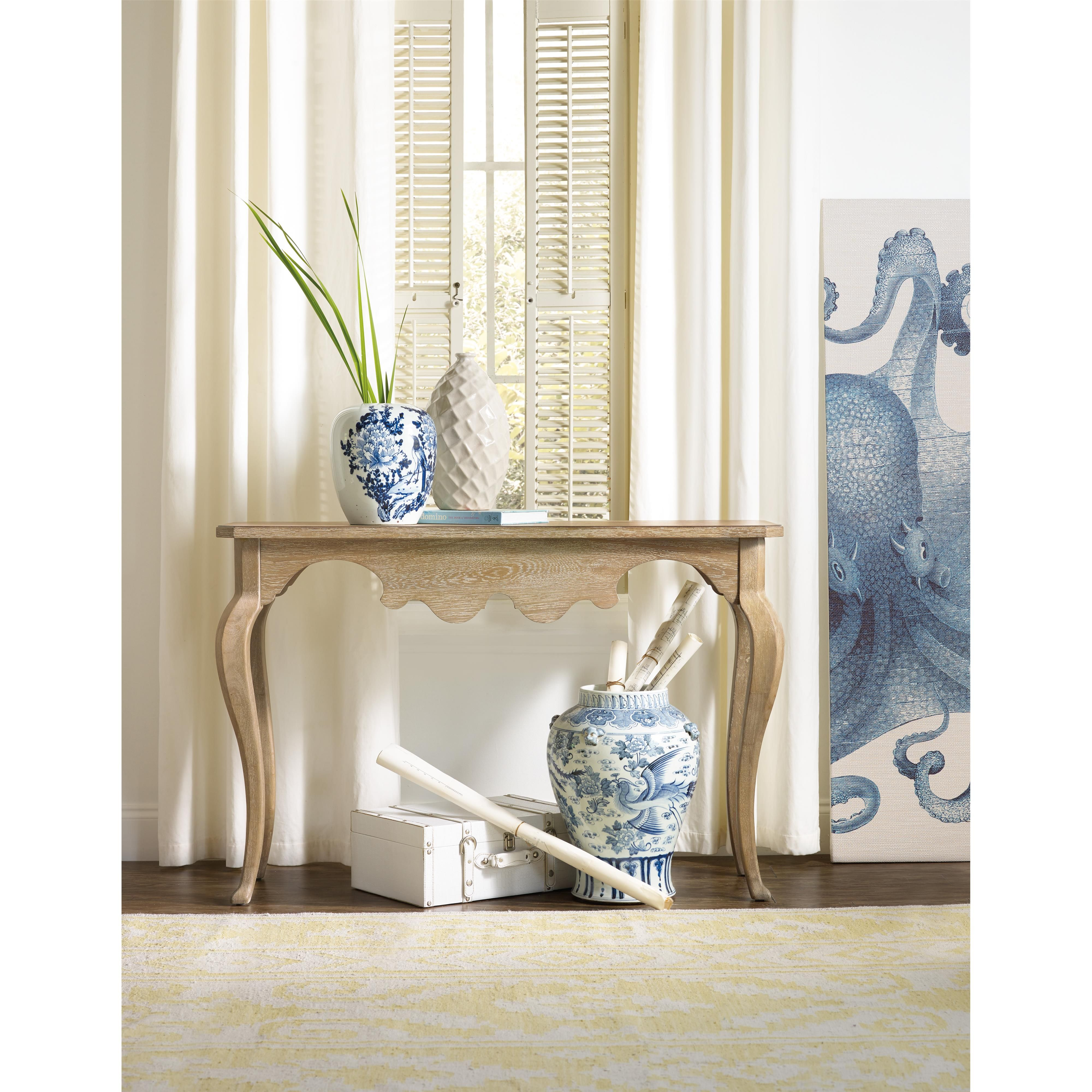 Add this tall console table to your living room decor or hallway for ...