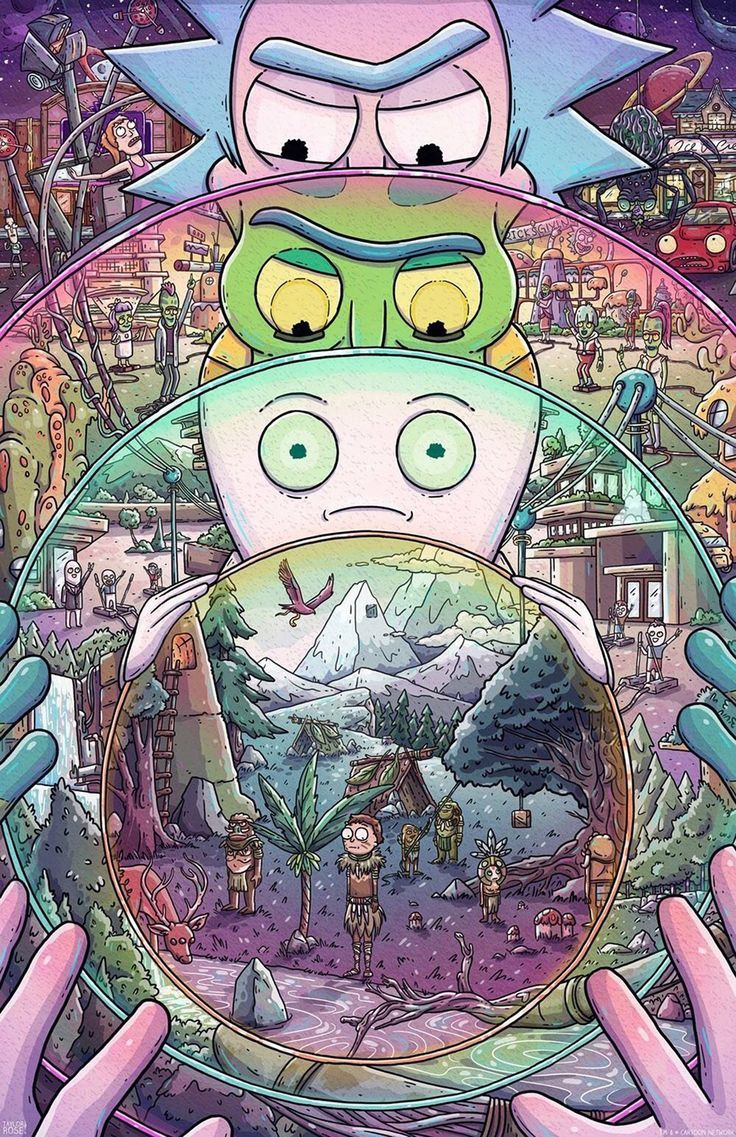 Rick And Morty Wallpaper Android Fondos de comic, Fondo