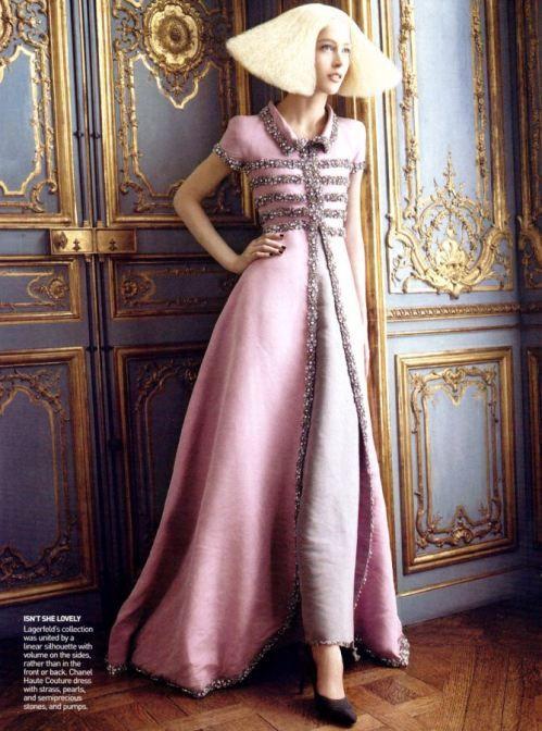 Rachel Z.; Grace C.; David S; Vogue US/Oct'07
