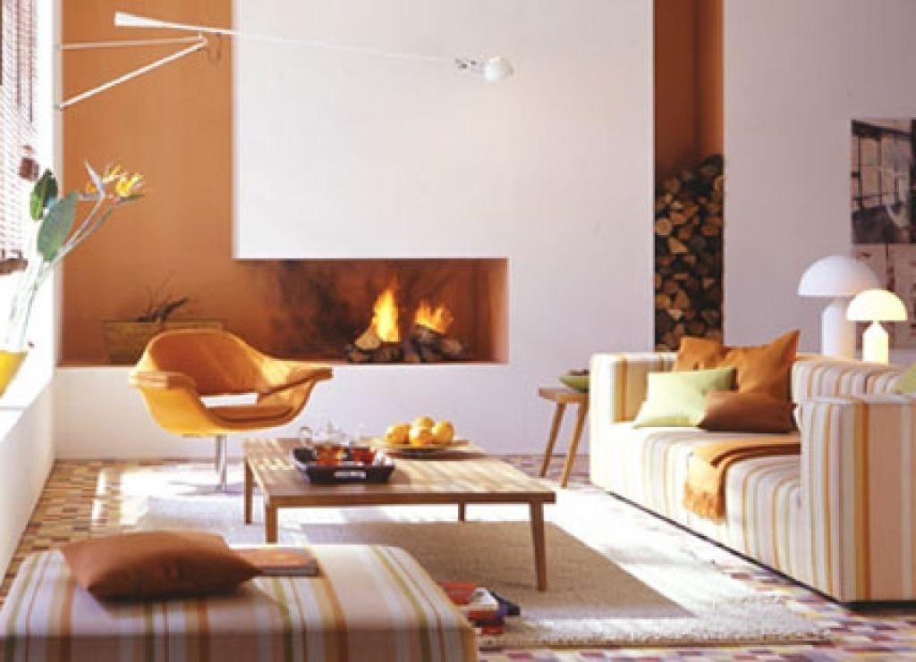 Modernes Wohnzimmer Mit Kamin Wohnzimmer Mit Kamin Bilder Hause