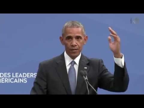 """Obama se llama a sí mismo """"populista"""" frente a Peña Nieto"""