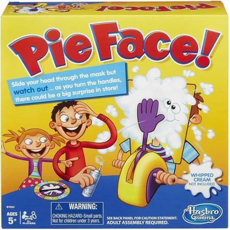 Pie Face Game Walmart Com Outdoor Fall Family Fun Pinterest