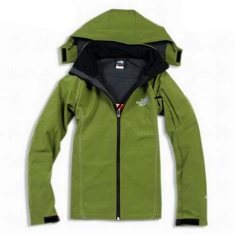 Mens The North Face Windstopper Jacket Spring Green