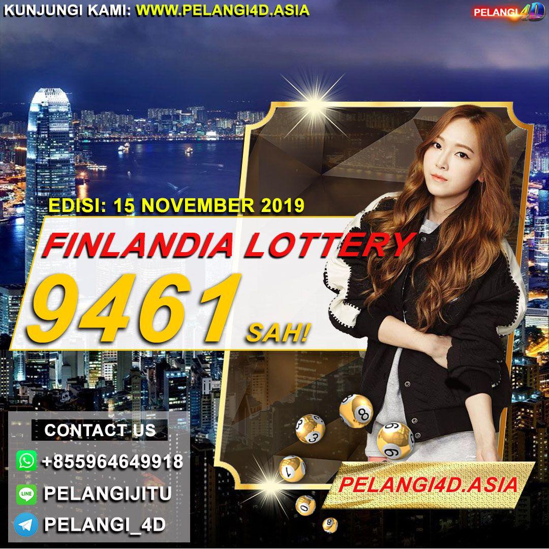 RESULTS FINLANDIA LOTTERY 15 NOVEMBER 2019 Ayam, Poker, Shio