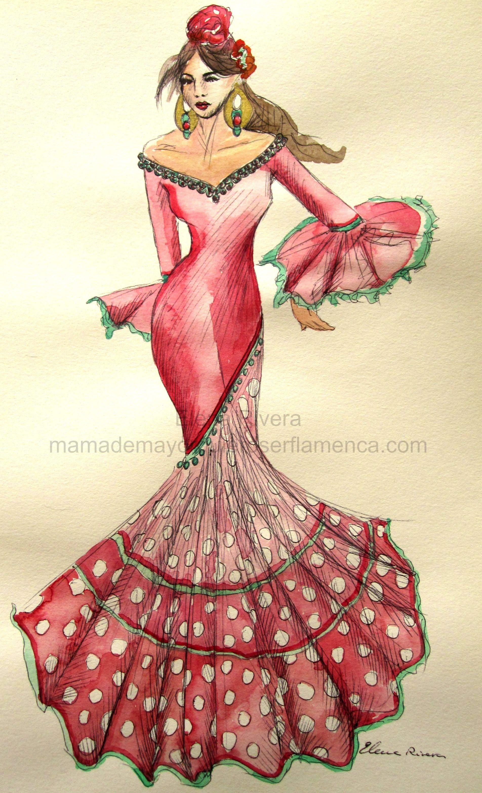 Venta de trajes de flamenca al por mayor