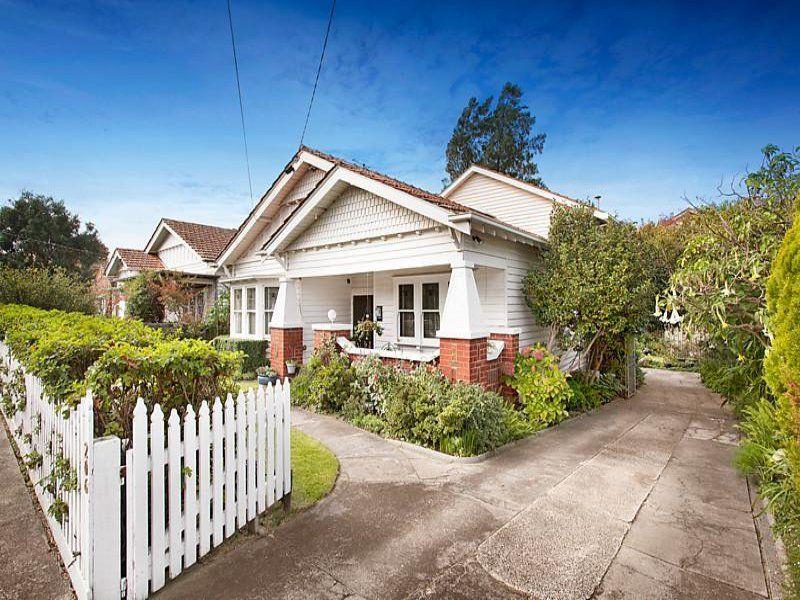 Bungalow Rent Melbourne Part - 43: White On White Californian Bungalow. 206 Napier Street, Essendon, Vic 3040
