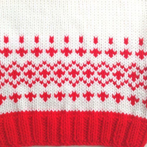 Géneros de punto niño suéter - 12 a 24 meses - Fair Isle tejidos de ...