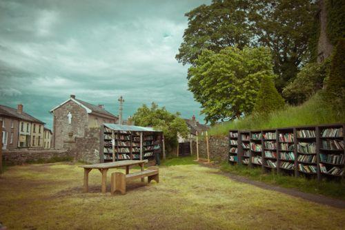 The Honesty Bookshop, Hay-on-Wye, Wales