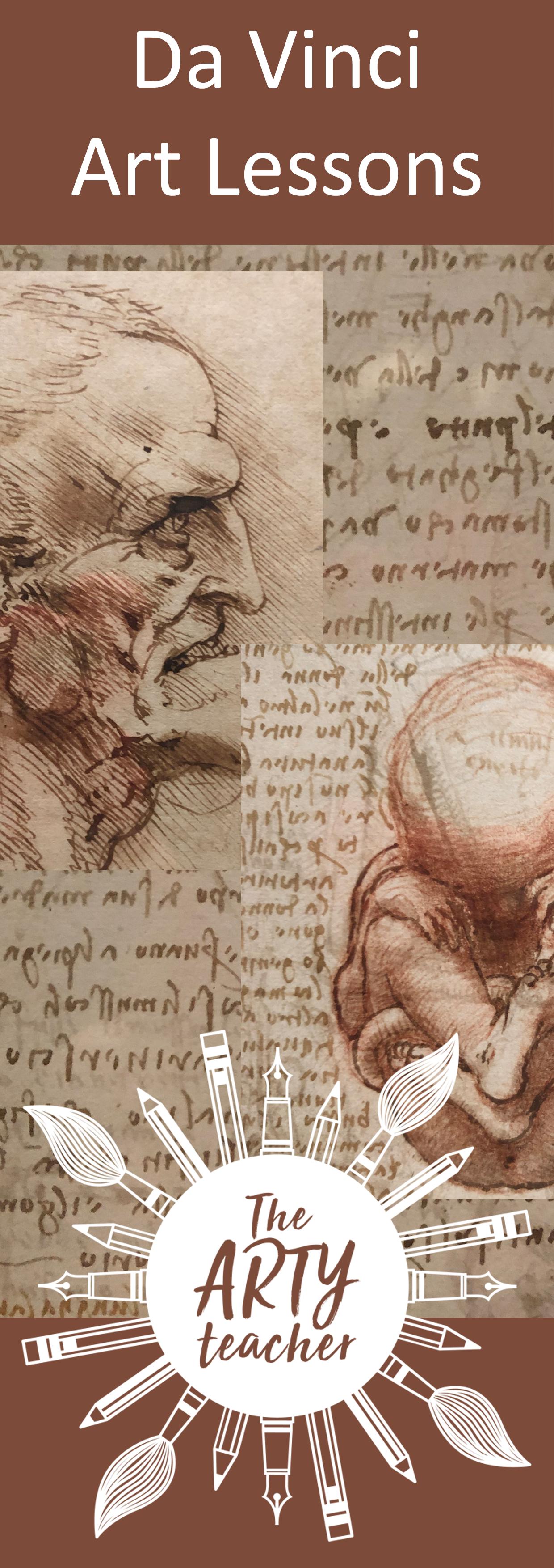 Leonardo Da Vinci art resources for Art Teachers . Art
