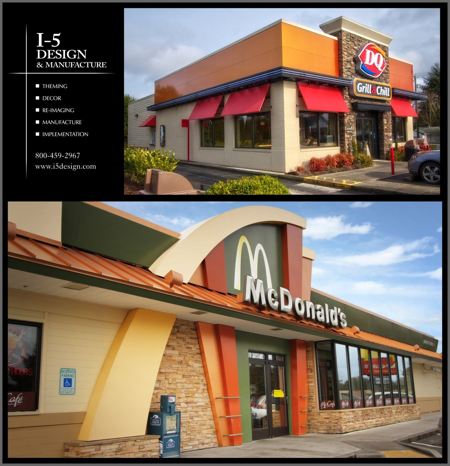 Fast food restaurant exterior google search shop for Fast food decoration