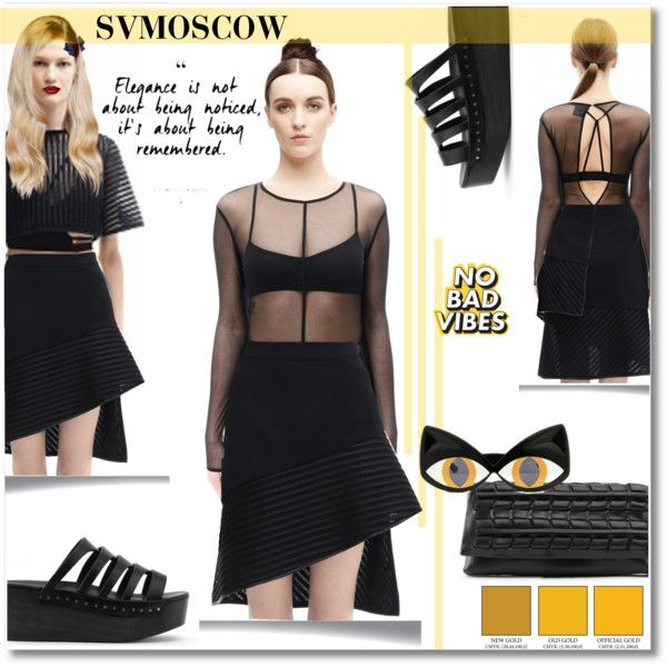 SVM7 by andrea2andare on Polyvore featuring moda, Ann Demeulemeester and Yazbukey