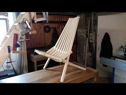 how to make a folding cedar lawn chair diy woodworking projects rh pinterest com
