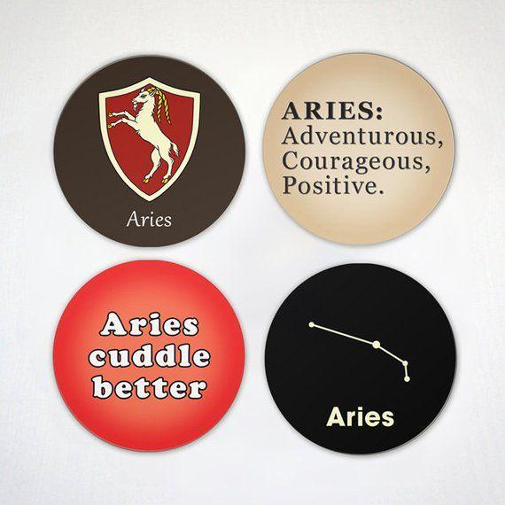 Aries Magnet Zodiac Sign Magnet Aquarius Symbols and Icons