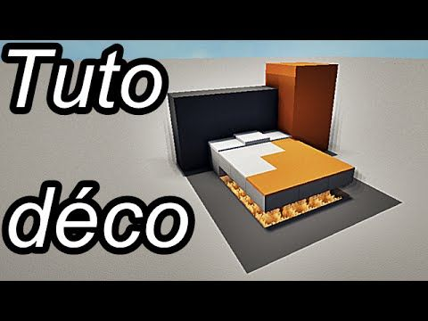 minecraft tuto d co int rieur meubles 2 2 felissa pinterest slime. Black Bedroom Furniture Sets. Home Design Ideas