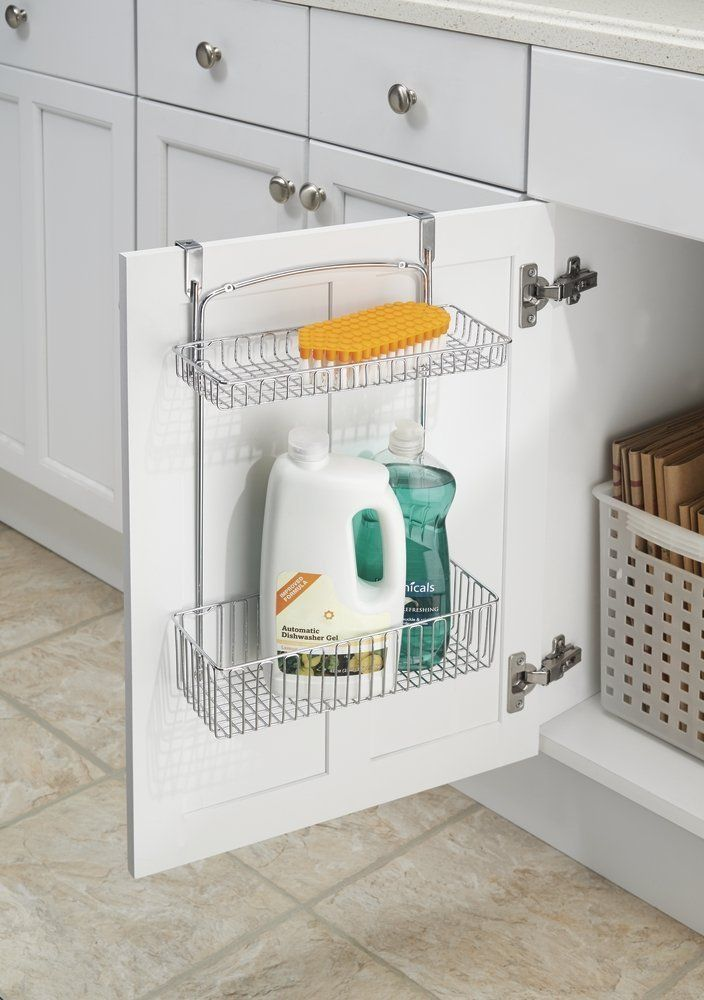 Amazon Mdesign Over The Cabinet Or Wall Mount Kitchen Storage