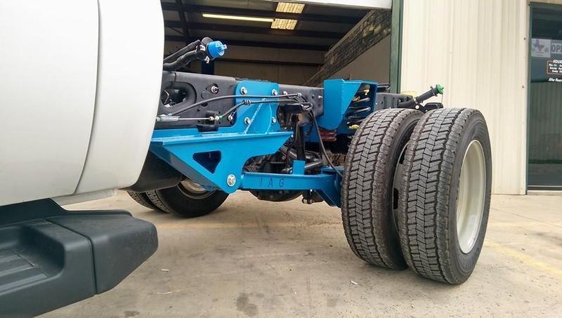 f550 suspension upgrades for Camper - rear coil spring
