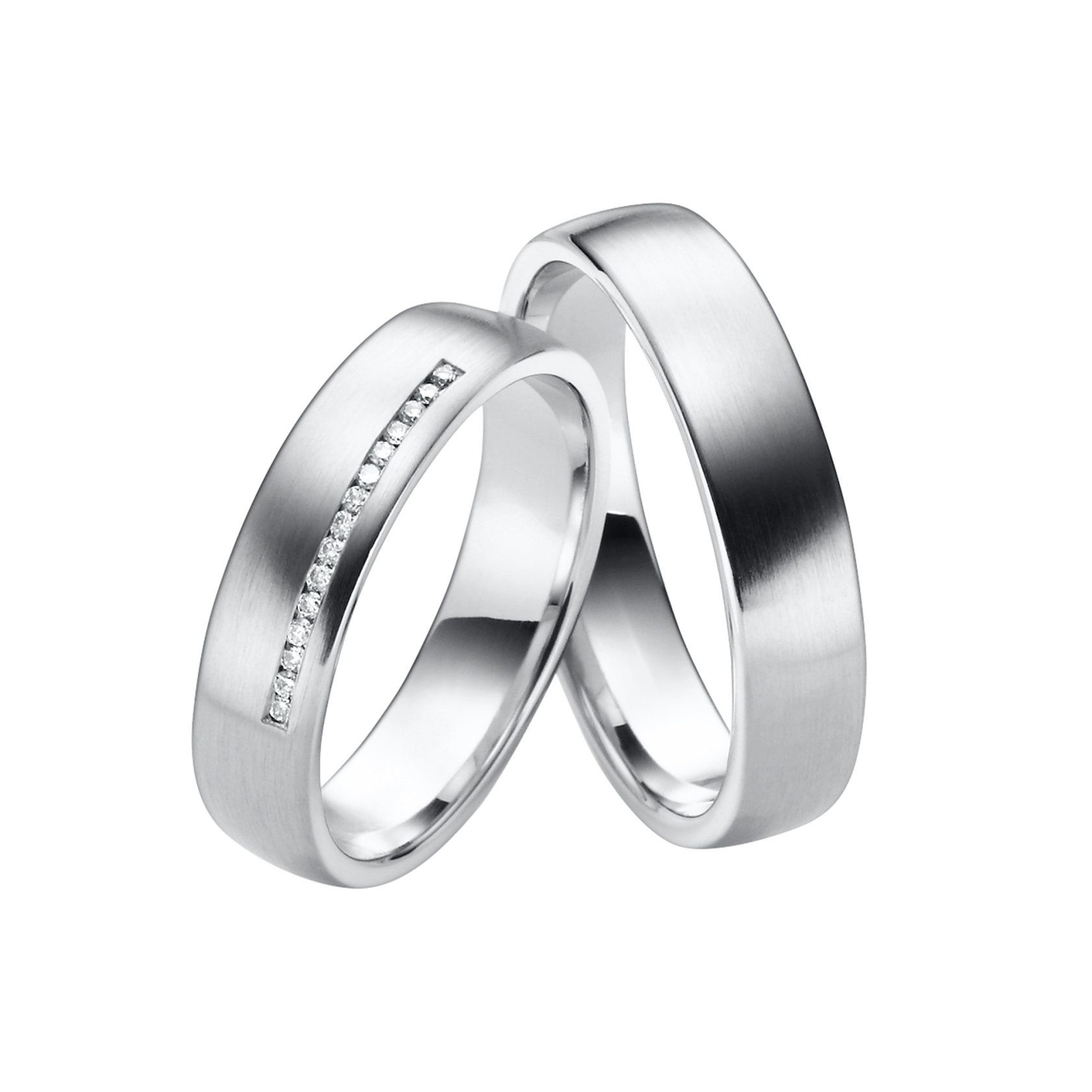 Juwelier Kraemer Trauring Diamant 333 Gold – zus. ca. 0