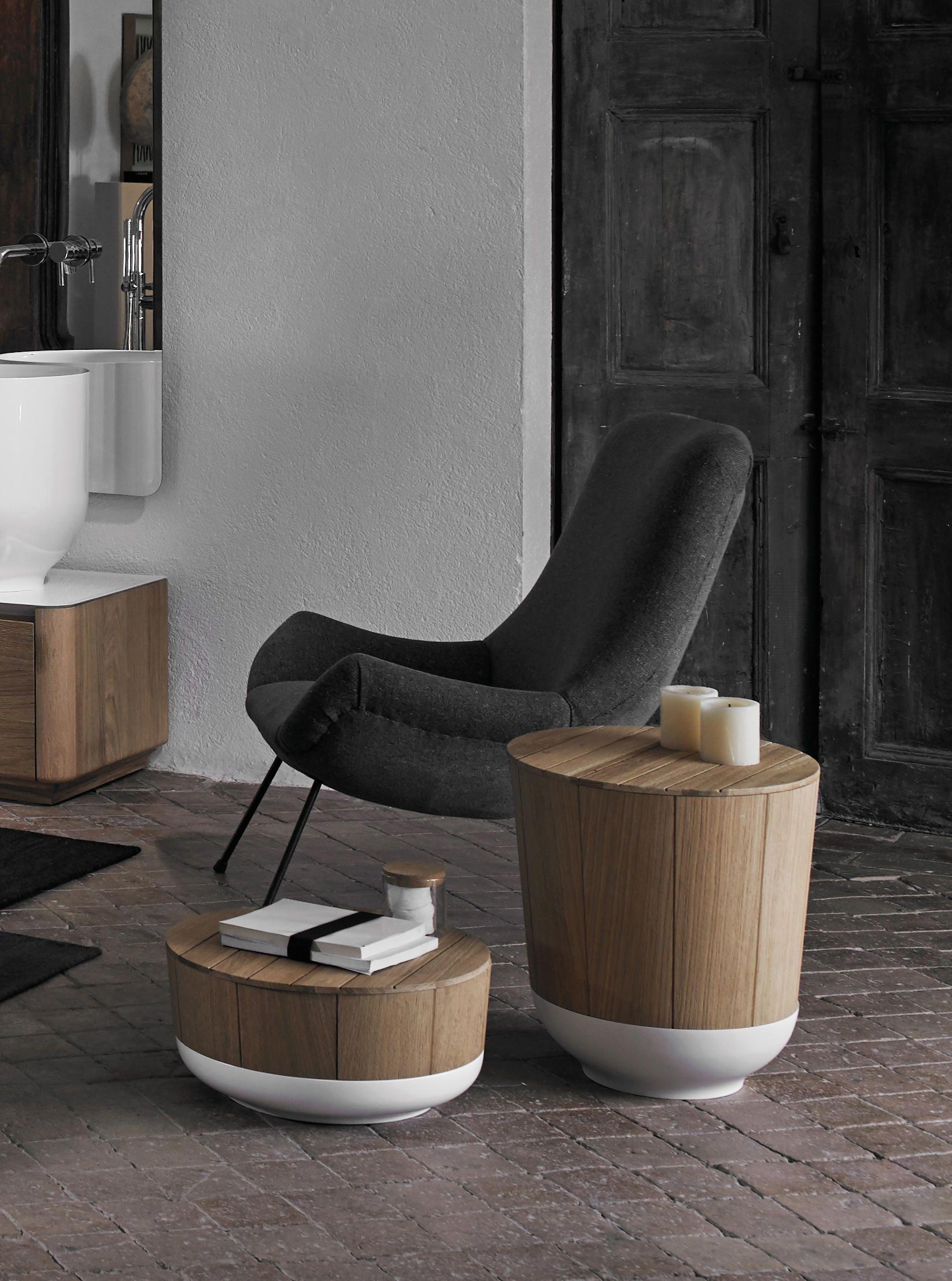 Origin Basket Stool By Inbani Laundry Baskets Bathrooms  # Muebles Laura Elda