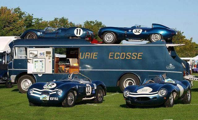 Race Car Transporters Jaguar C And D Types Race Car