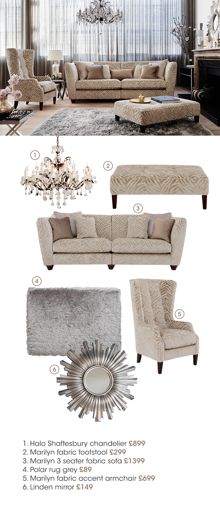 The Hollywood Collection By Furniture Village Shop The Brand New Range Now Home N Decor Living Room Designs House Interior