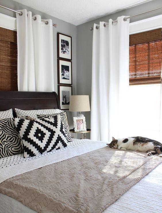 estores y cortinas en una habitacion | cortinas y persianas ...