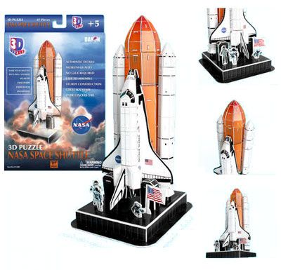 NASA Space Shuttle 3D Puzzle $9.95 | FOR Mr. M | Pinterest ...