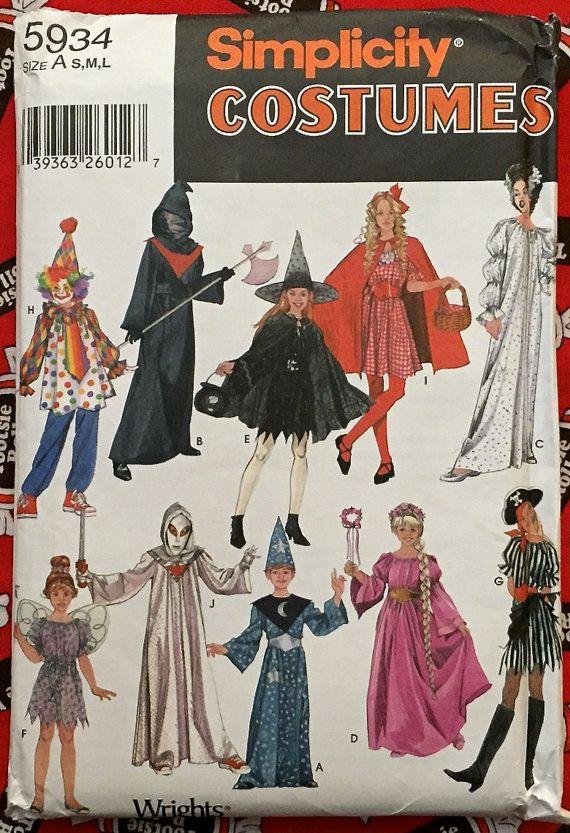 HALLOWEEN #COSTUMES Sewing Pattern ~ Bride of #Frankenstein Grim ...
