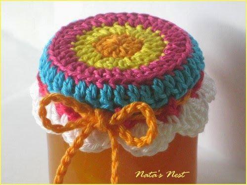 Natas Nest Jam Pot Covers Free Crochet Pattern
