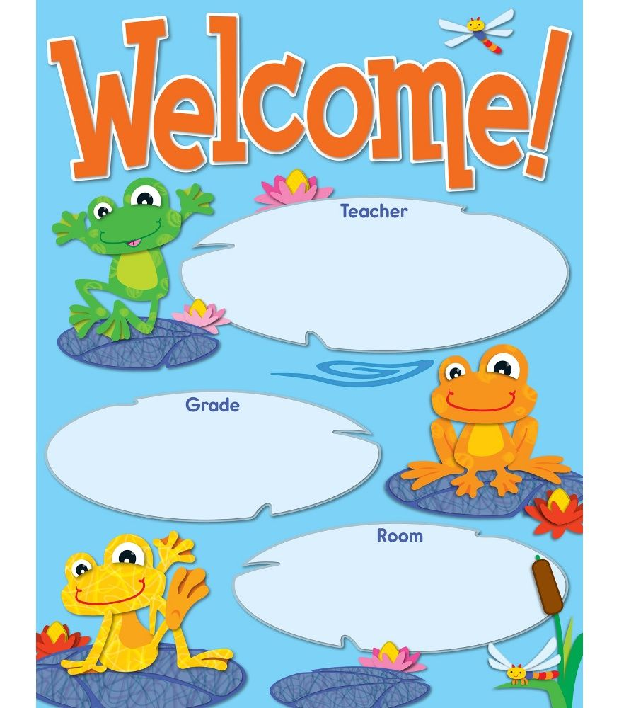 Create  welcoming cheery atmosphere for your classroom with this playful light hearted also best theme funky frogs images on pinterest carson rh