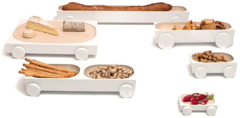 y'a pas le feu au lac at france design - milan design week 2012, kart, ed carpenter, food design, snacks