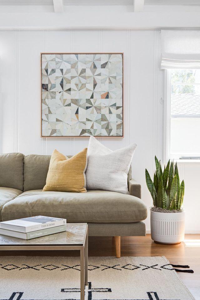 Earthy Living Room Decor: Earthy Modern Living Room #style #decor #beautifulhome