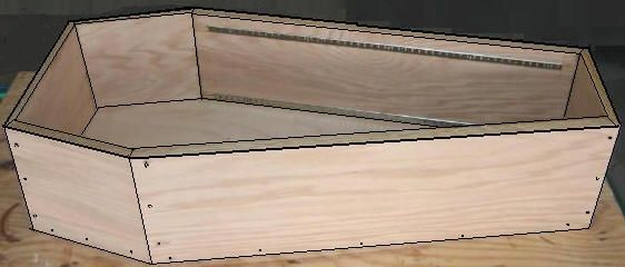 free coffin plans how to build a coffin how to build a halloween coffin prop