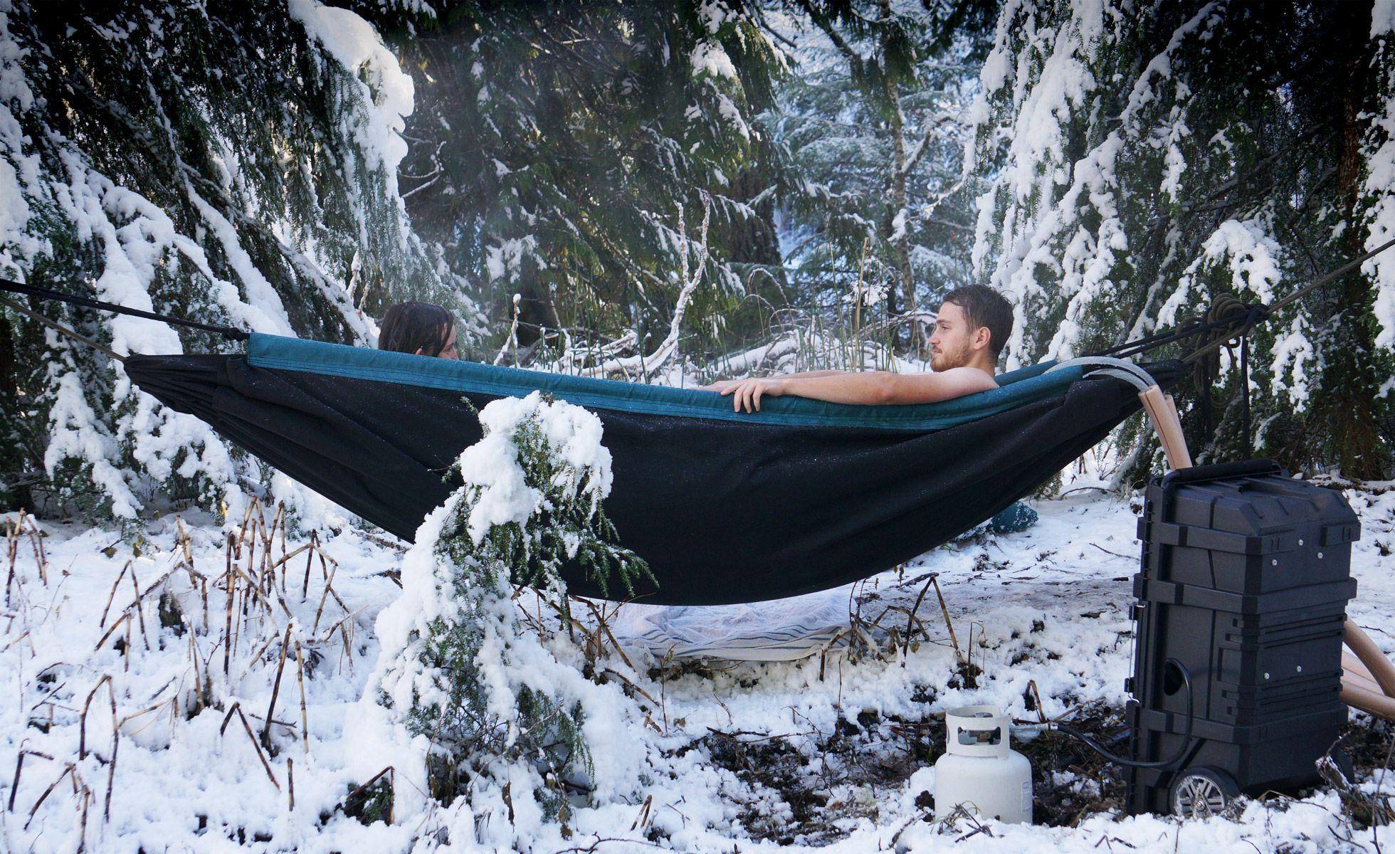 Hydro hammock hot tubs and gift
