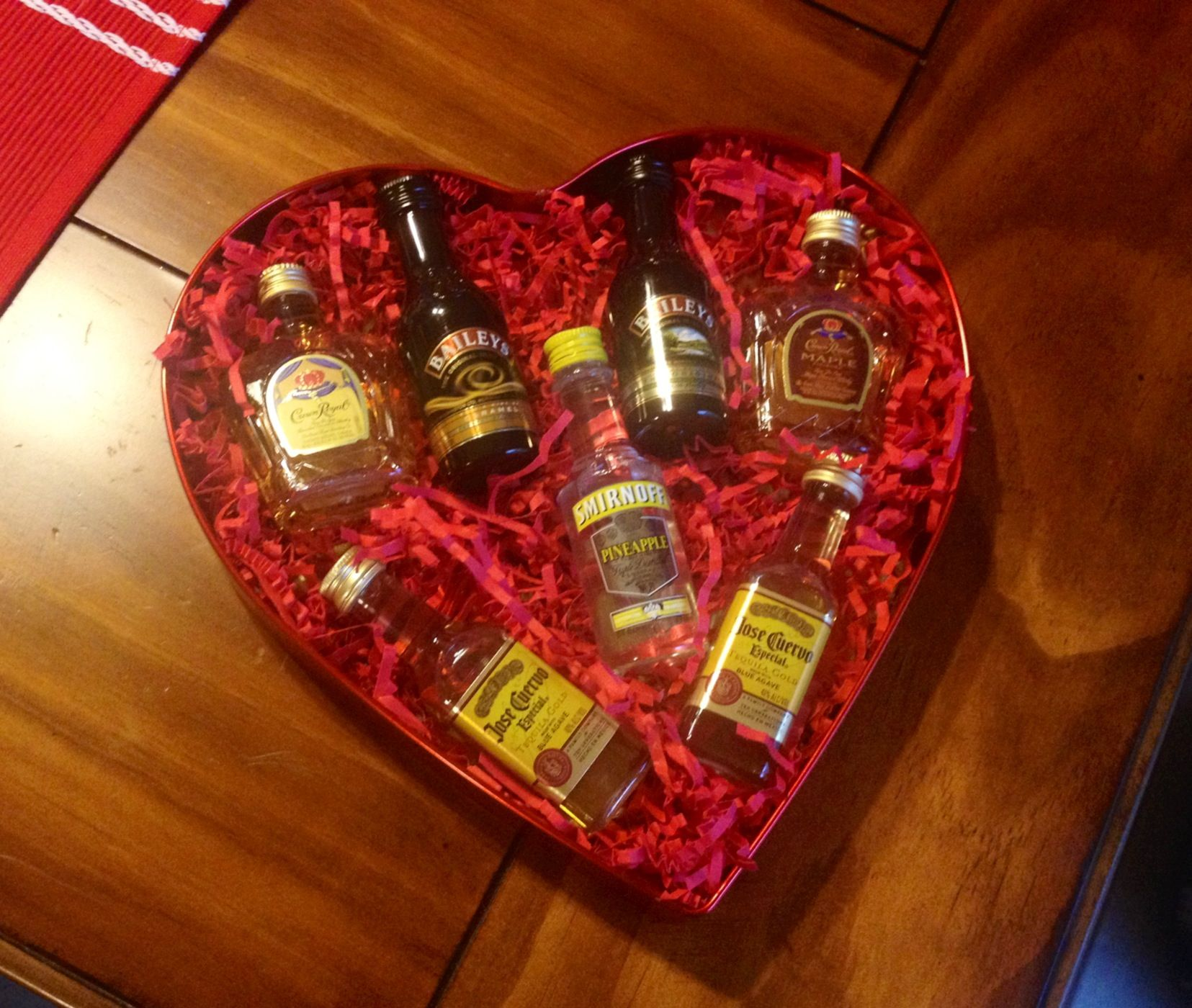 Chocolate Box For My Man Valentine S Day Present Alcohol For A Man Or For The A Mens Valentines Gifts Birthday Gifts For Boyfriend Valentines Day Presents