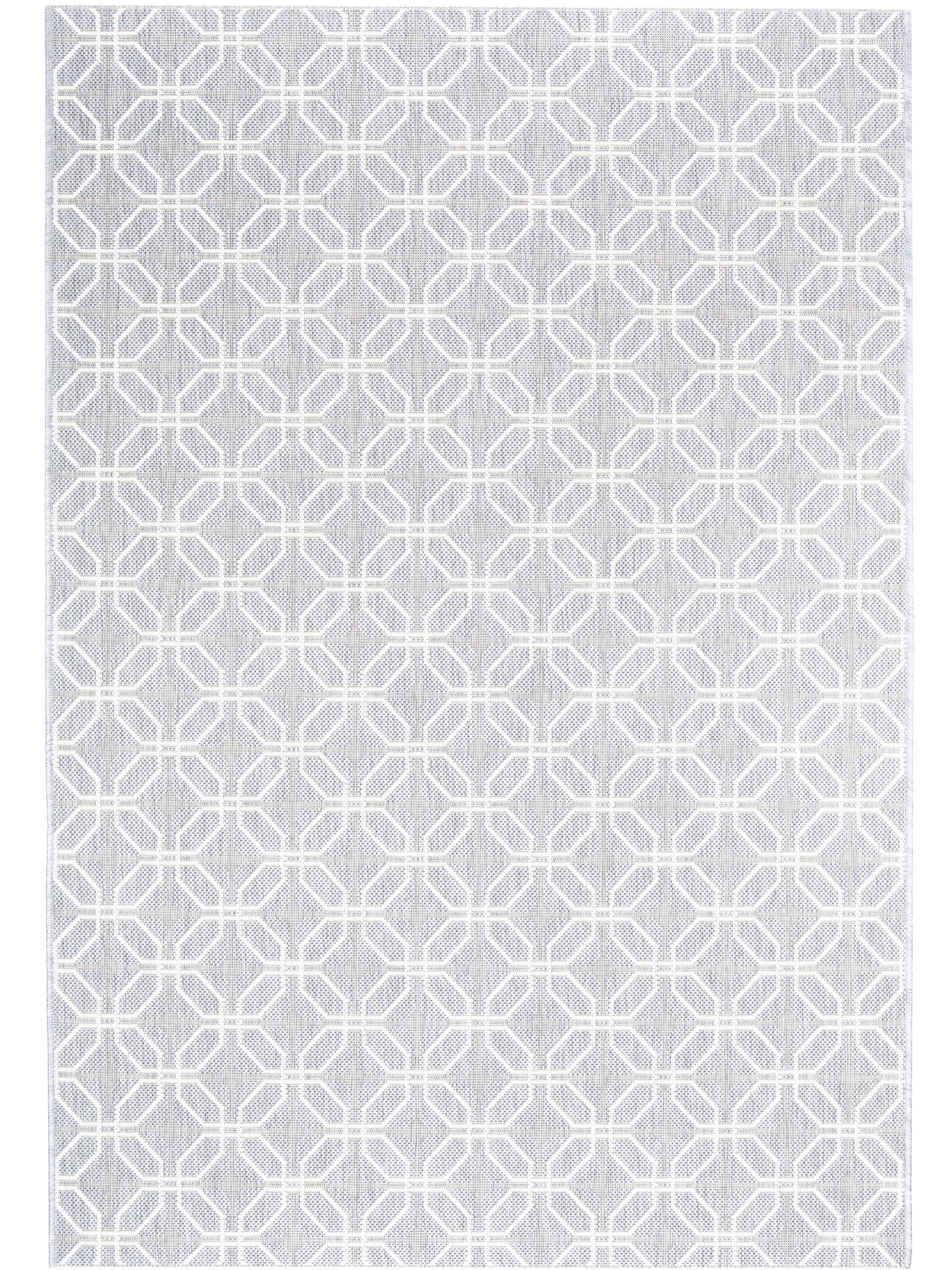 Skandinavische muster  Das schlichte geometrische Muster des benuta In- & Outdoor Teppich ...