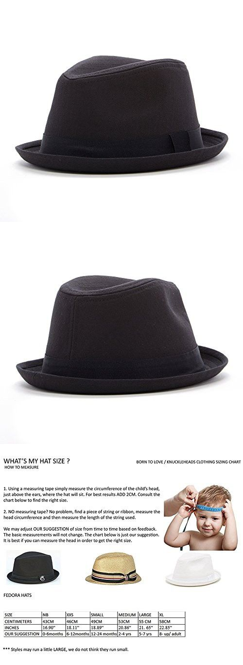 1326143fc4 Born to Love Infant/ Toddler Boy's Fedora Hat | Parenting and kids ...