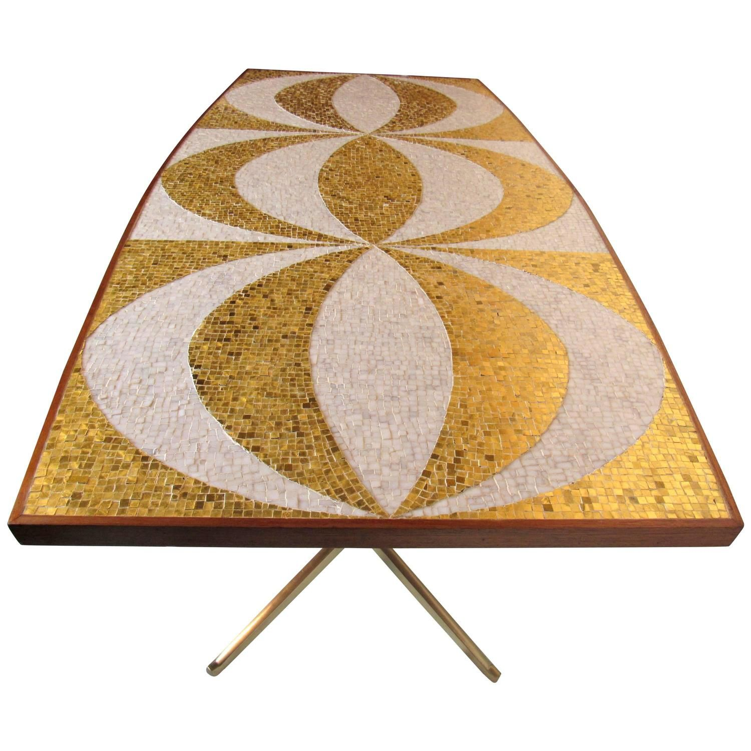 Mosaic Dining Table Writing Desk With Mahogany And Bronze Bases Unique Mosaic Dining Room Table Review