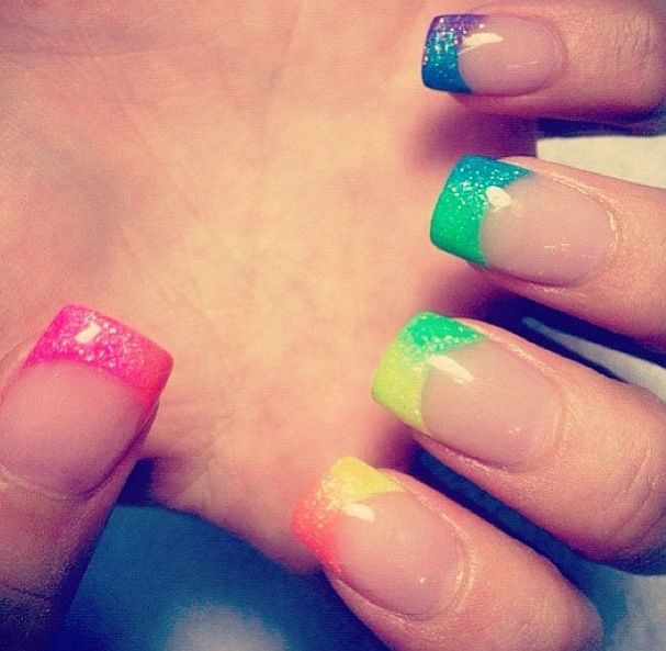 French Manicure Nails   Nails and Makeup   Pinterest   French ...