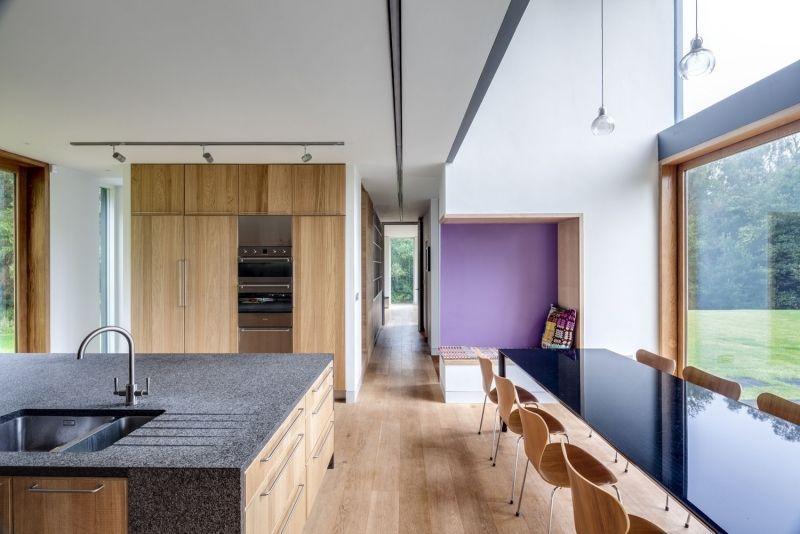 Landhaus Stil -moderne-architektur-einrichtung-kueche-essbereich - küche landhaus modern