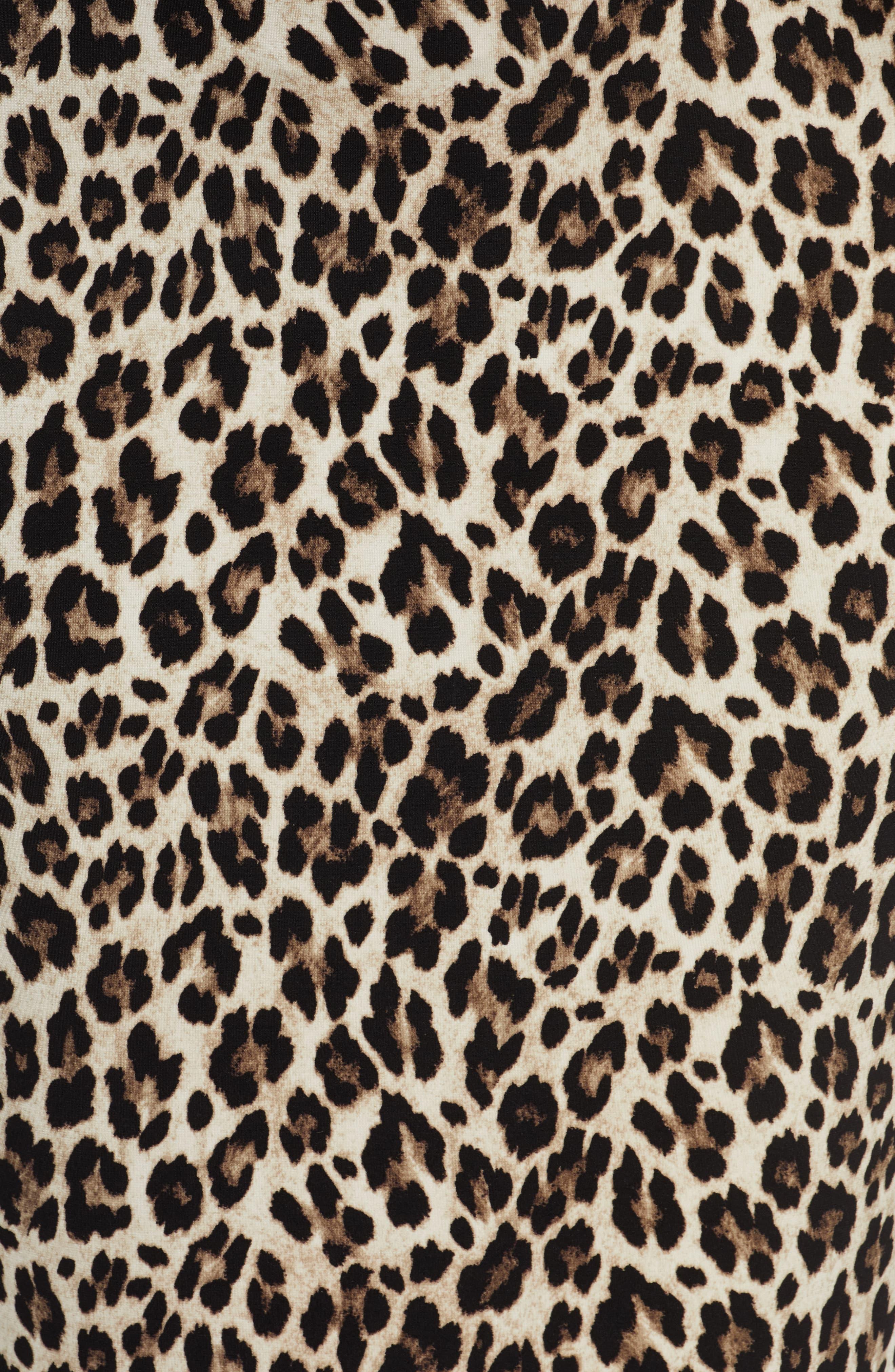 Plus Size Women S Vince Camuto Leopard Pencil Skirt Size Leopard Print Wallpaper Cheetah Print Background Leopard Print Background